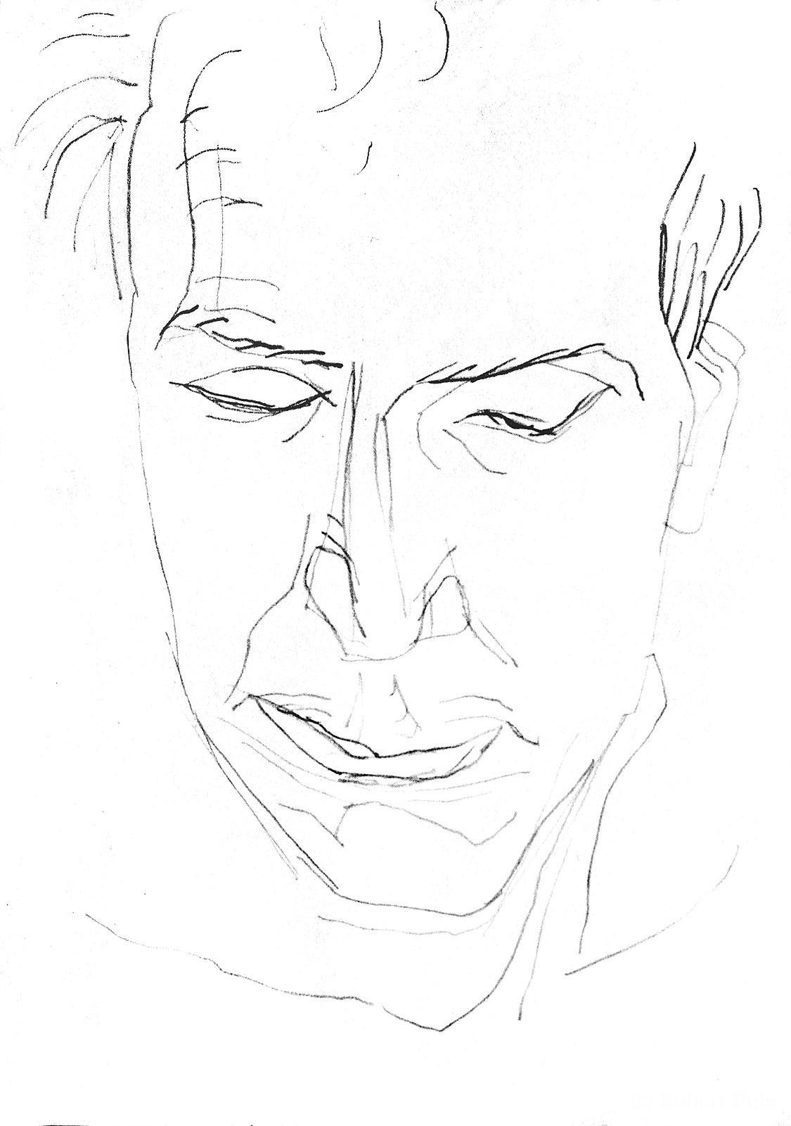 Christoph Bleistiftzeichnung Robert Puls
