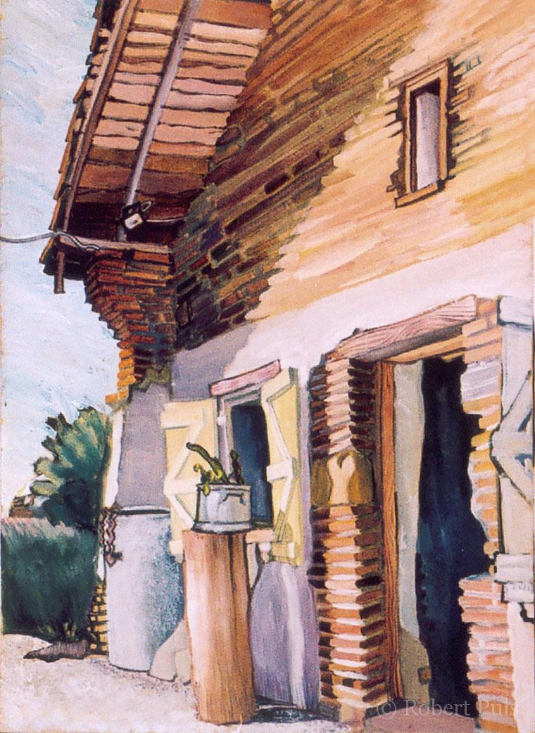 Frankreich Cantegril Bauernhof Malerei Robert Puls