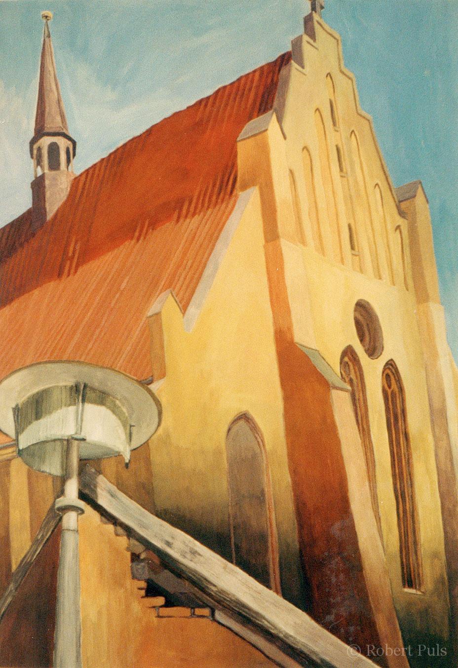 Malerei Rostock Universitätskirche