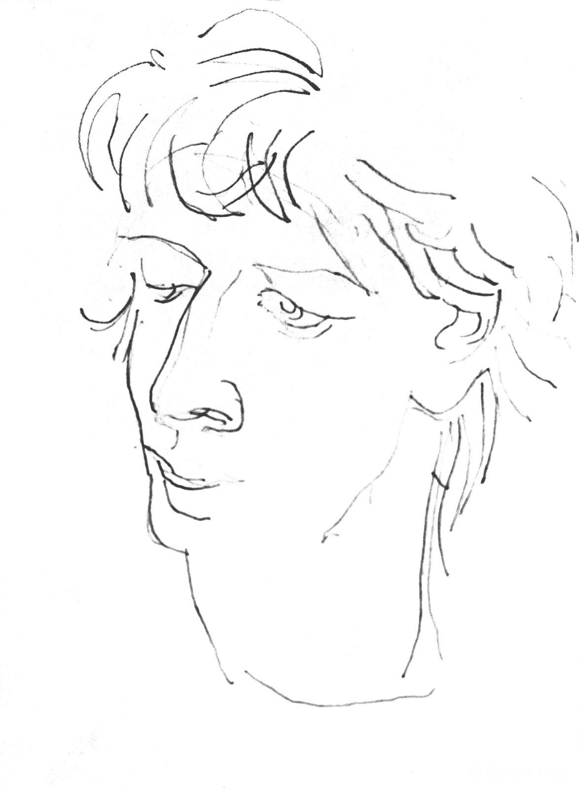 Jana Zeichnung Skizze