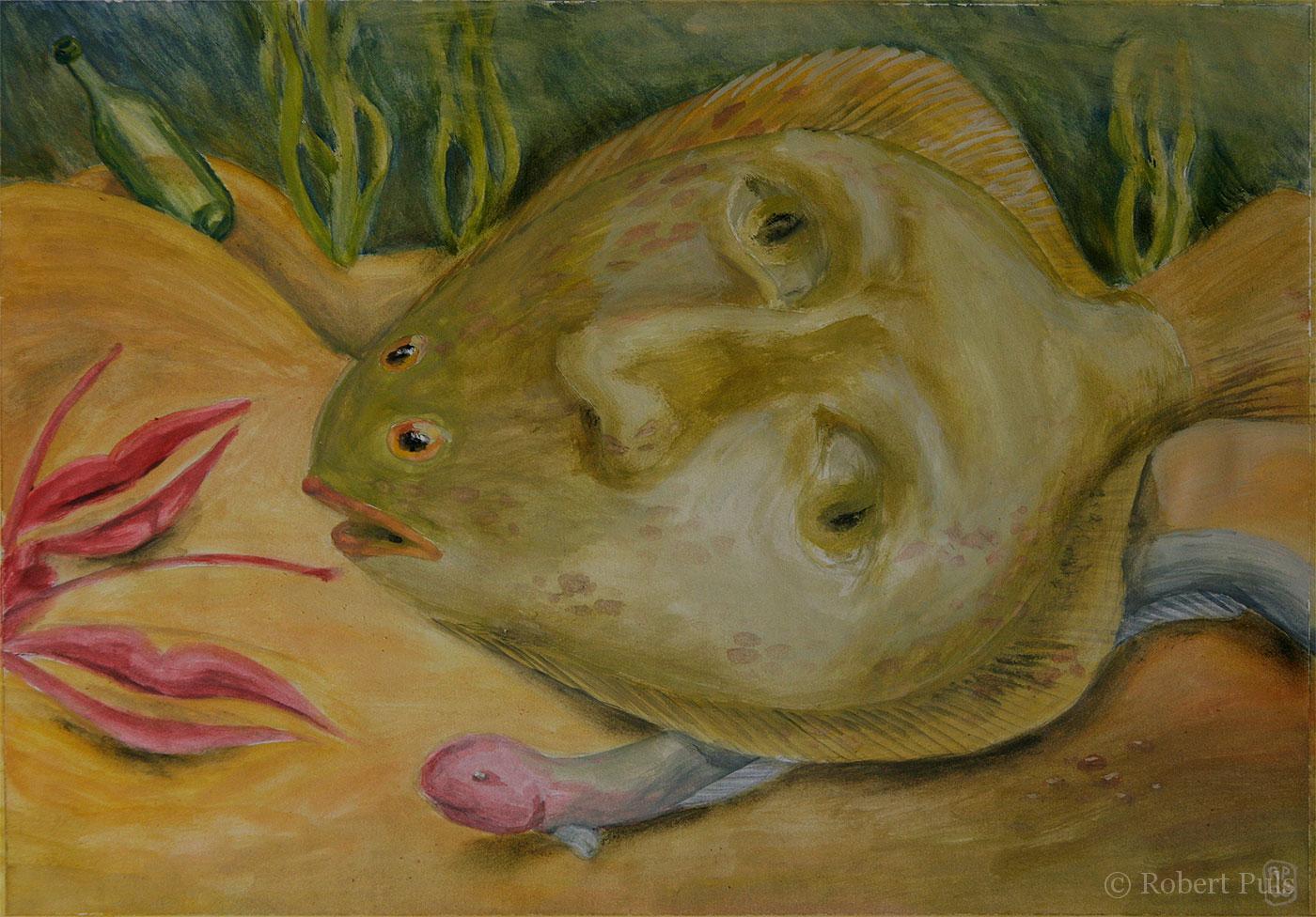 Malerei Robert Puls Menschliches 2