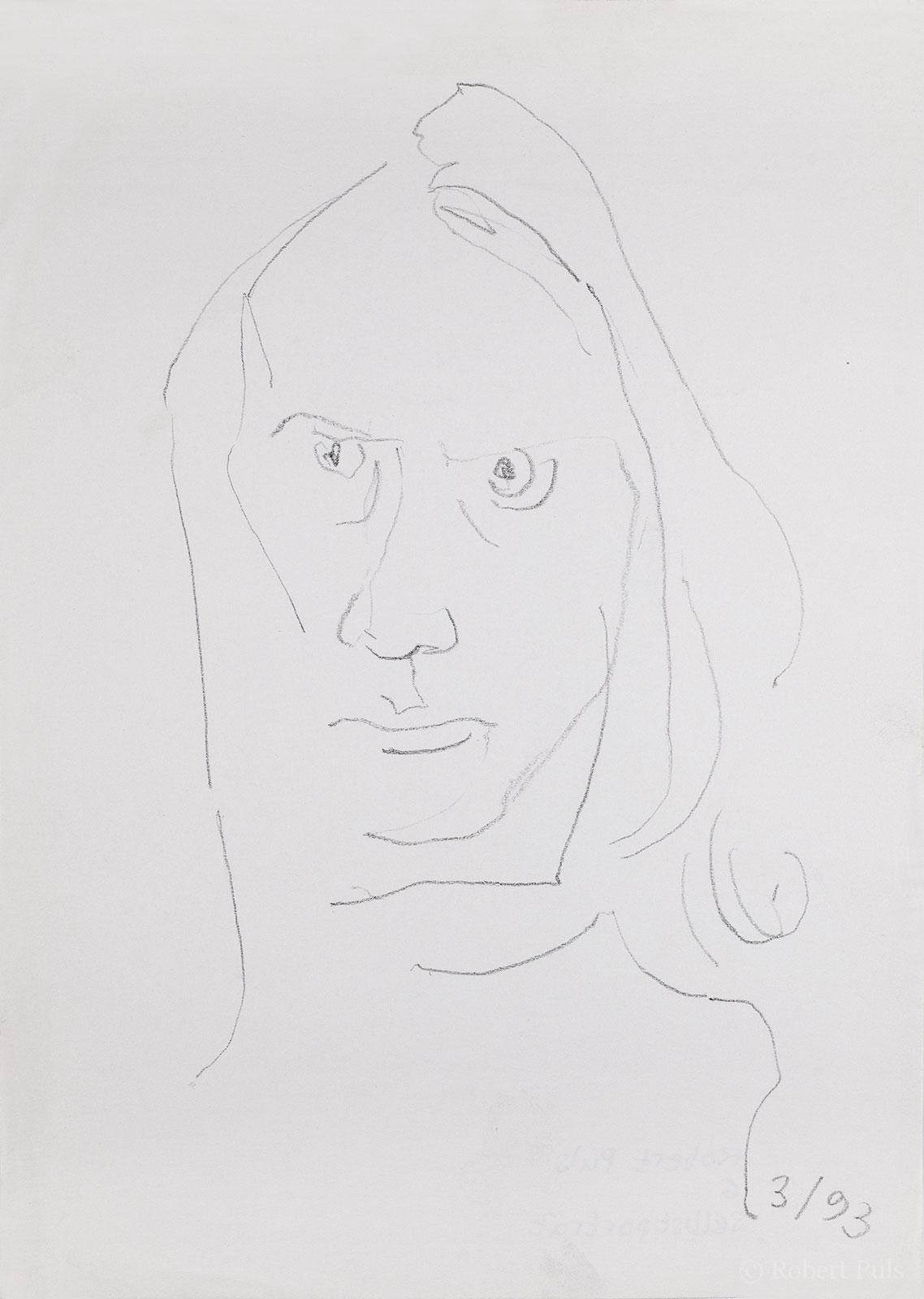 Portrait Skizze Bleistift