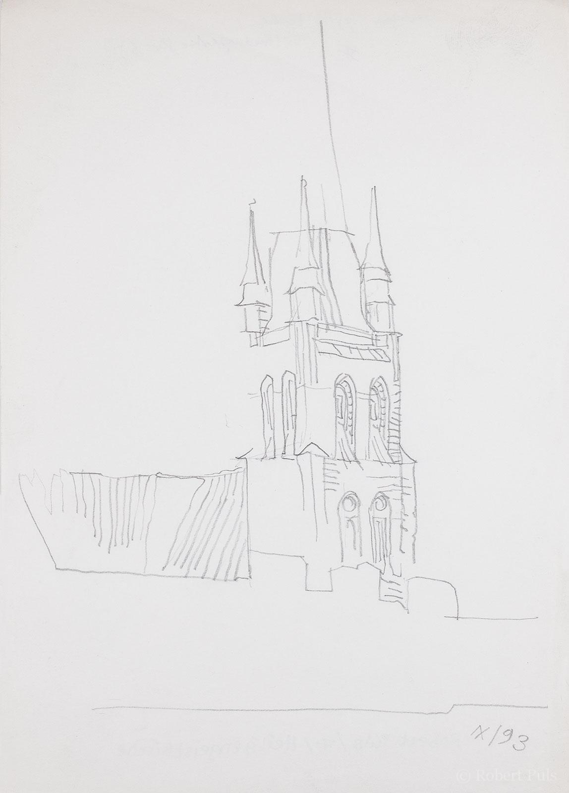 Heiligengeistkirche Rostock KTV Bleistift