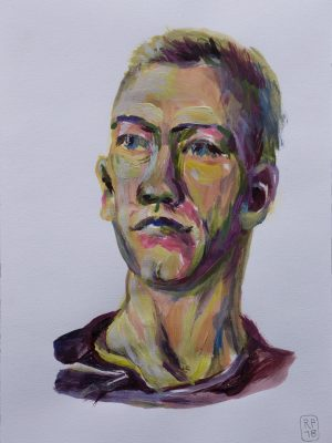 Portrait Acryl Tim