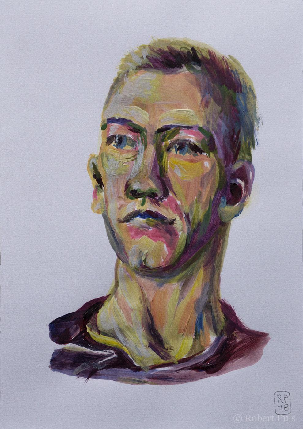 Portrait Acryl Tim